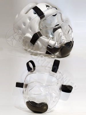 Маска пластиковая для шлема
