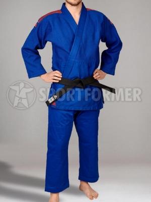 Кимоно для дзюдо Adidas Contest J650B синее blue