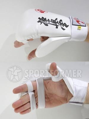 Перчатки тренировочные Киокушинкай Рей-Спорт