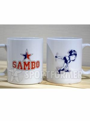 Кружка сувенирная Самбо
