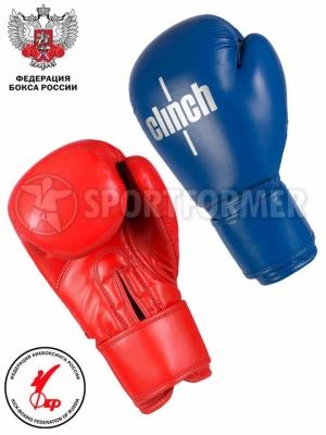 Боксерские перчатки Clinch Olimp Plus