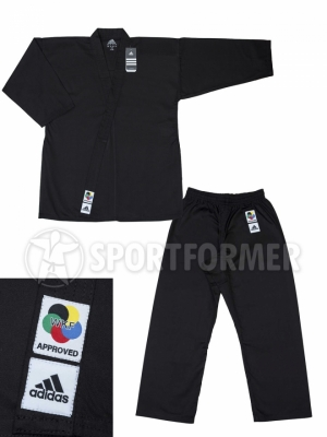 Кимоно для Каратэ Adidas Club Black WKF