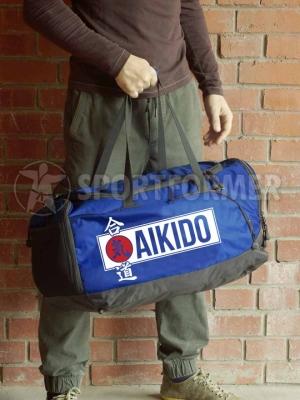 сумка айкидо синяя aikido