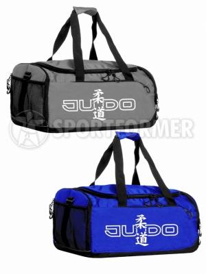 сумка дзюдо judo bag синяя серая blue grey