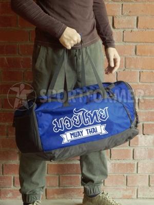сумка muay thai тайский бокс синяя муай тай