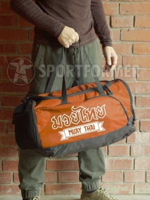 сумка muay thai тайский бокс оранжевая