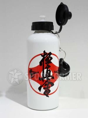 бутылка питьевая из пищевого алюминия Киокусинкай каратэ киокушин