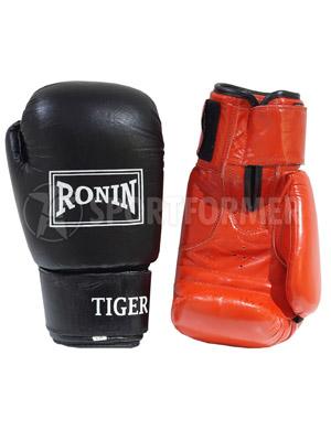 Перчатки боксерские Ronin tiger кожа