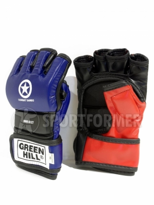 Перчатки для боевого самбо Green Hill Combat Sambo, кожзам