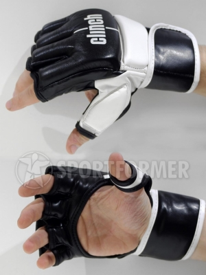 Перчатки MMA Clinch Combat Black
