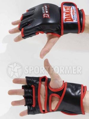 перчатки мма кожаные