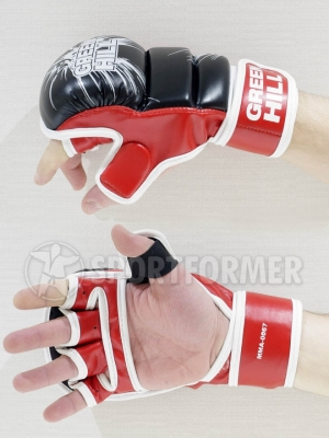 Перчатки тренировочные MMA Green Hill