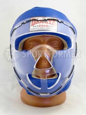 Шлем для РБ с пластиковой маской Danata