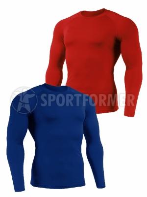 рашгард синий красный