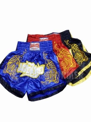 шорты для тайского бокса с тиграми