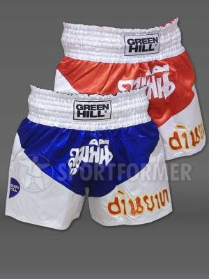 Шорты для тайского бокса Green Hill Victory