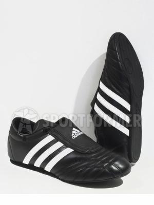 Степки Adidas черные кожаные
