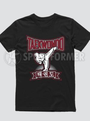футболка тхэквондо