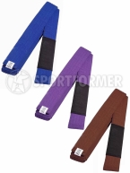 пояс синий пурпурный коричневый для bjj