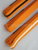 Пояс оранжевый BJJ EMA