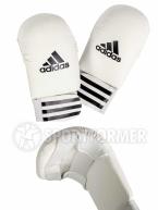Накладки для каратэ Adidas Smaller White