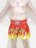 Шорты для тайского бокса Danata красные