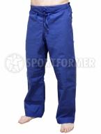 штаны дзюдо синие