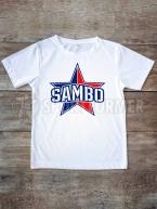 Футболка Самбо S8 белая
