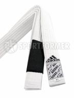 Пояс белый BJJ Adidas